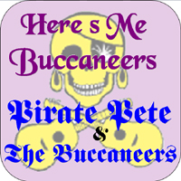 Here's Me Buccaneers Cover art